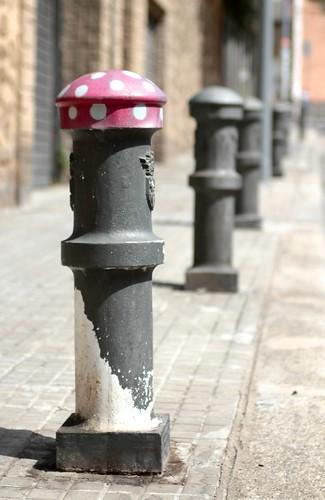 Drôle de Champignon - Urban Art -Barcelone