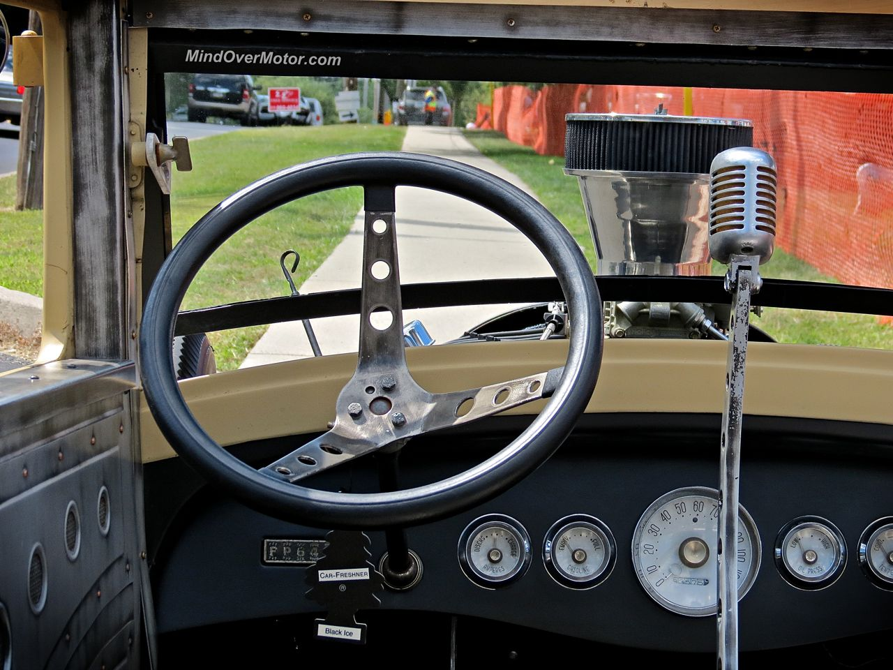 Ford Rat Rod New Hope Mic Shifter