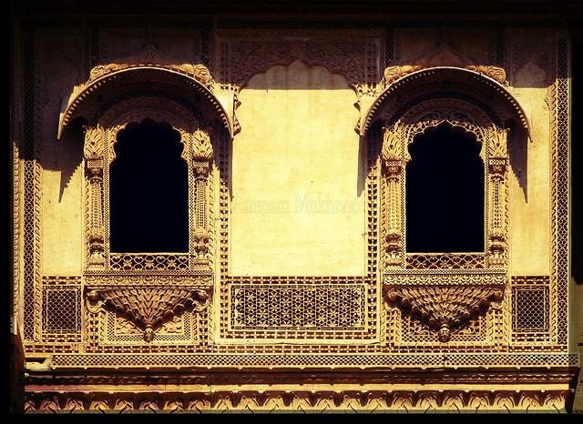 Jharokha patwa ki haveli jaisalmer rajasthan flickr