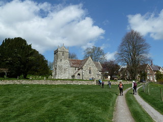 St. Mary, Alvediston, burial place of Sir Anthony Eden, Prime Minister 1955-57