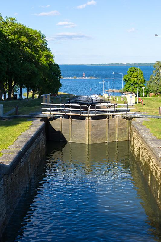 Sweden. Gota Canal