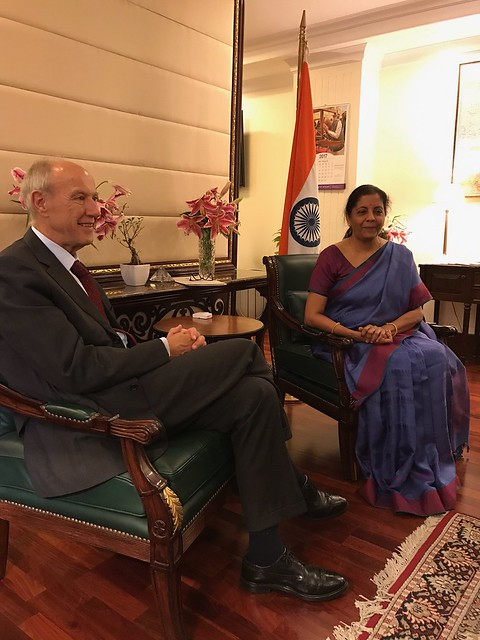 WIPO Director General Meets India's Minister of State for Commerce & Industry