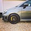 What a superb little car. Very well sorted without any modifications. Really quite quick and sounds superb #abarth #drivetastefully #595competizione #abarthisti #brembo