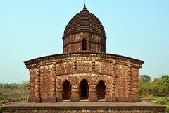 India - West Bengal - Bishnupur -  Radhagobinda Temple - 11