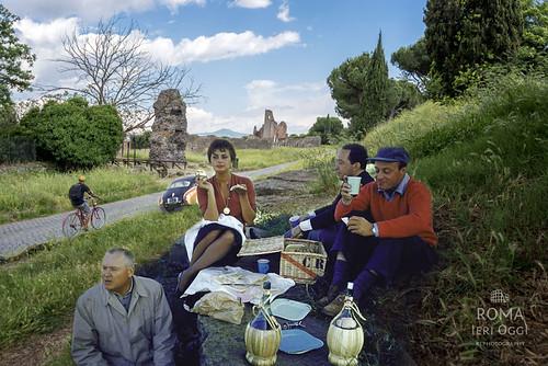 Un pic-nic sull'Appia Antica