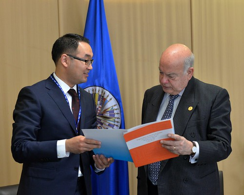 OAS Secretary General and Deputy Foreign Minister of Kazakhstan Met in the Context of the General Assembly