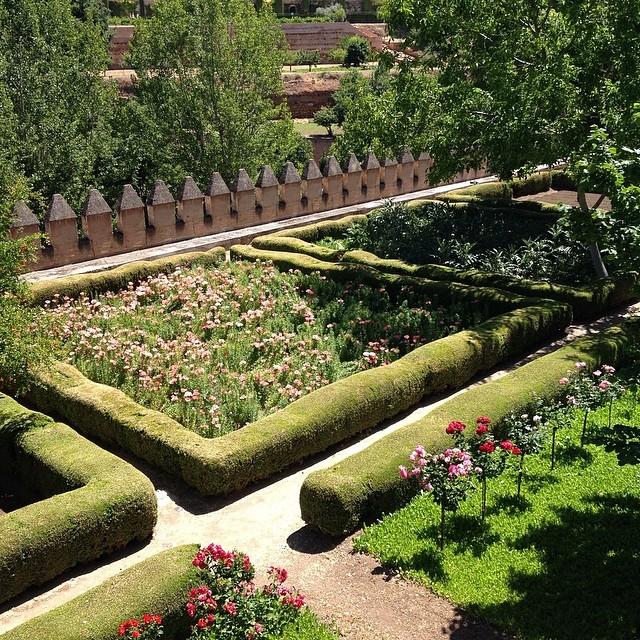 阿尔罕布拉宫花园