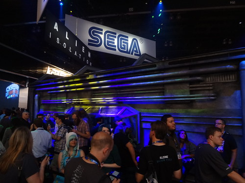 SEGA E3 2014 - Alien: Isolation Booth