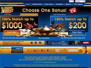 Lucky Nugget Casino Home
