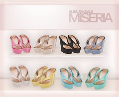[Miseria] Bliss Sandals
