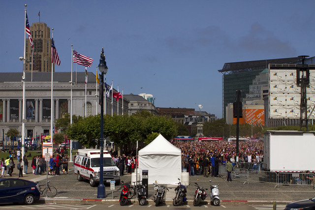 San Francisco Civic Center World Cup Screening: USA vs. Portugal (June 22, 2014)