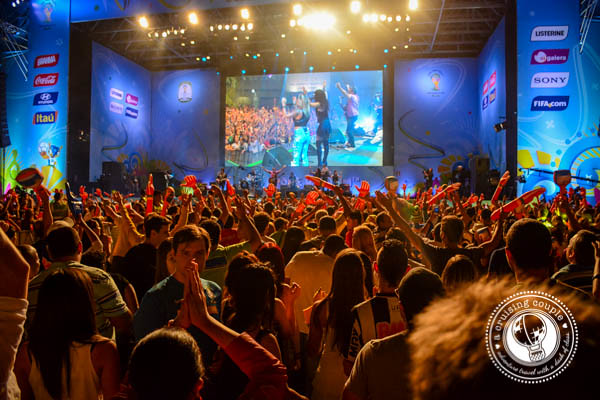 FIFA Fan Fest Concert Brazil World Cup 2014