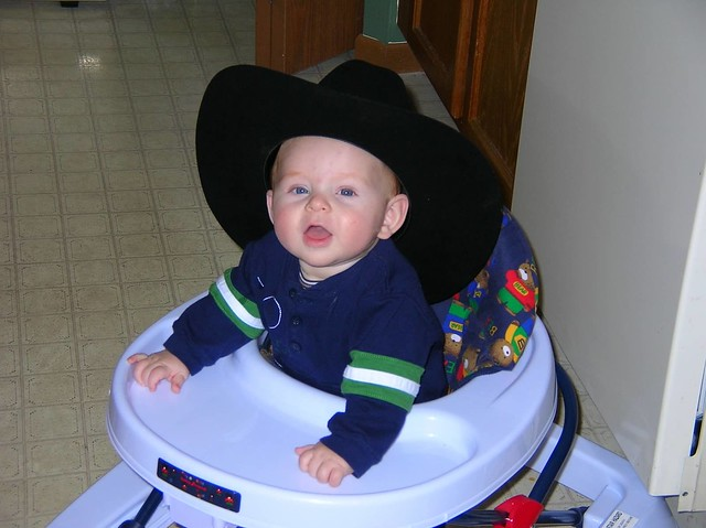 Cowboy Connor 5 months old