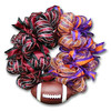 House Divided Deco Mesh Wreath