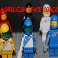 A Brickish Space Comic