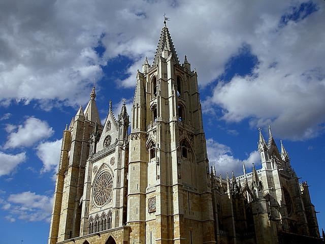 En El Camino a Compostela. Por fuera.