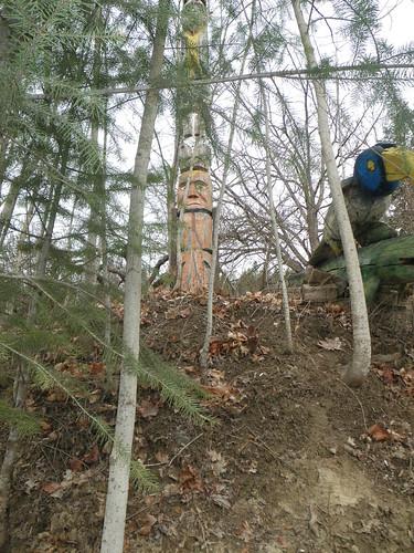 woods totem raven