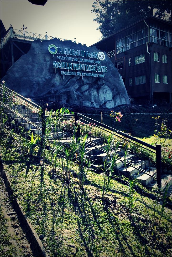 키나발루 국립공원 입구-'키나발루산 등반 준비 Climbing mount Kinabalu Preparation'