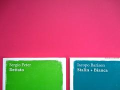 Romanzi, collana di Tunué edizioni. Progetto grafico di Tomomot; impaginazione di TunuéLab. Copertine [Peter, Barison] (part.), 3