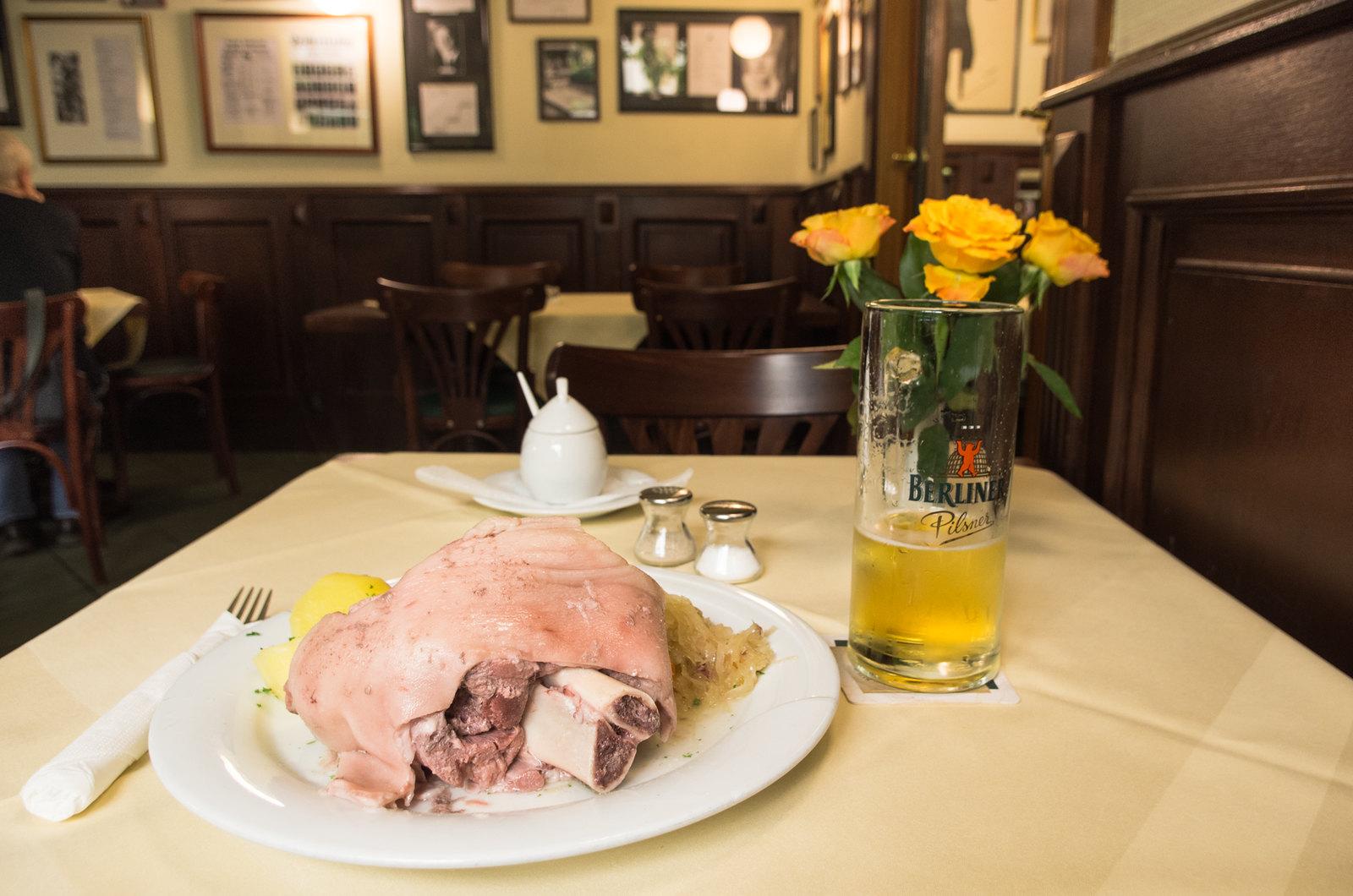 Quart d'heure cochon à Berlin - Carnet de voyage à Berlin