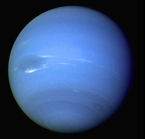 Neptune Photo by NASA and Wikipedia