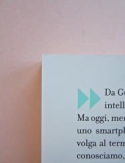Come finisce il libro, di Alessandro Gazoia (Jumpinschark). minimum fax 2014. Progetto grafico di Riccardo Falcinelli. Quarta di copertina (part.), 4