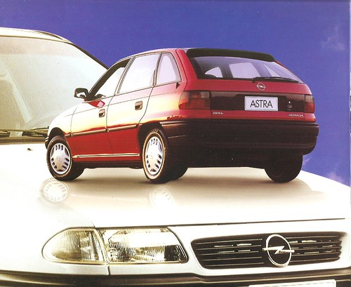 Opel Astra 1996 Chile brochure