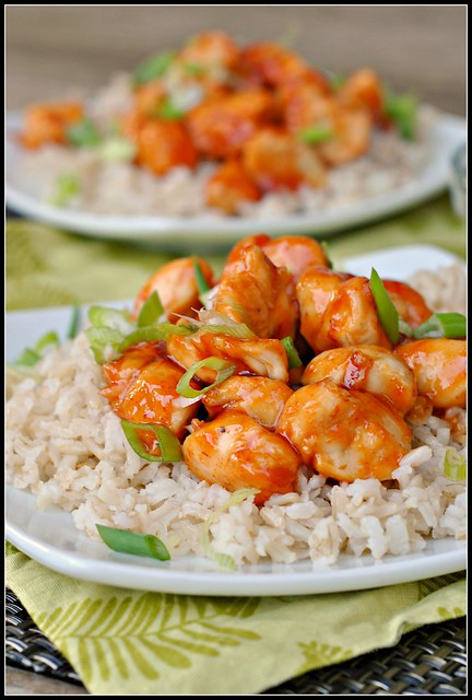 Honey Sriracha Chicken 1