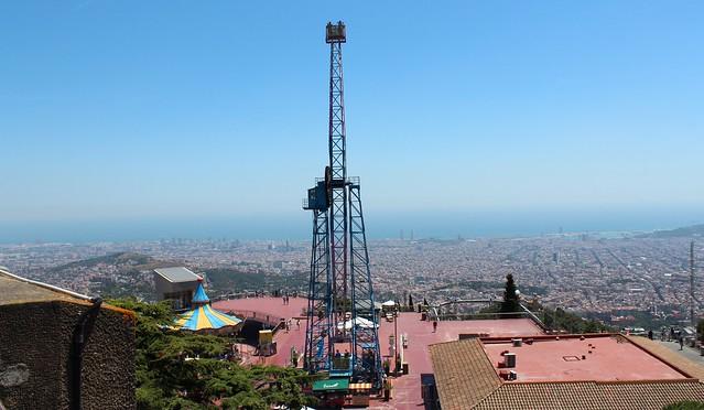 O que fazer em Barcelona - Tibidabo