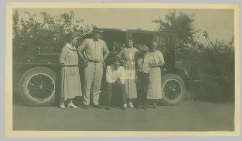 Group and car