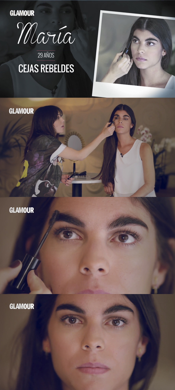 barbara crespo maybelline ny press eyebrow design diseño de cejas prensa elle glamour tv fashion blogger blog de moda