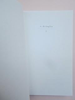 Ortografia della neve, di Francesco Balsamo. incertieditori 2010. Progetto grafico di officina delle immagini. Verso della carta di guardia, pagina dell'occhiello. (part.), 1