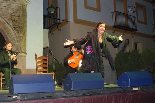 AionSur 14492165623_6fb1c8d610_d La voz de 'Macanita' y el baile de Manuel Liñán templan con brillantez el fresco de la quinta noche de Al gurugú Flamenco