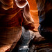 Light in Lower Antelope Canyon