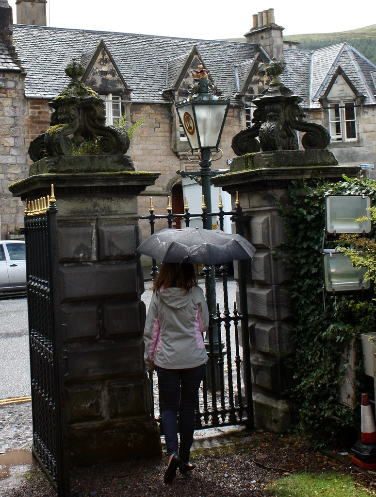 Falkland Fife Scotland Umbrella