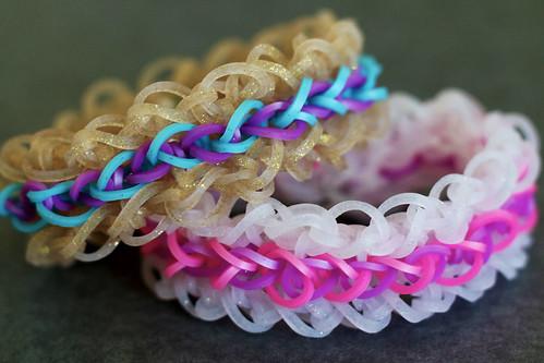 Layered-Ruffles-Bracelets
