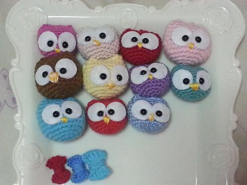 Mini Owls Amigurumi