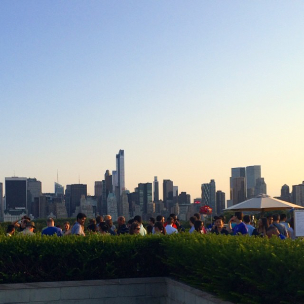 View from Met Rooftop