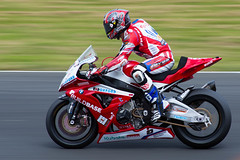 Riyuichi Kiyonari on the brakes