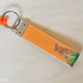 """Orange Apollo"" Orange Apollo's Official Laminated Fabric Keychain / Key Holder / Key Fob / Key Ring For Bunny Lovers"