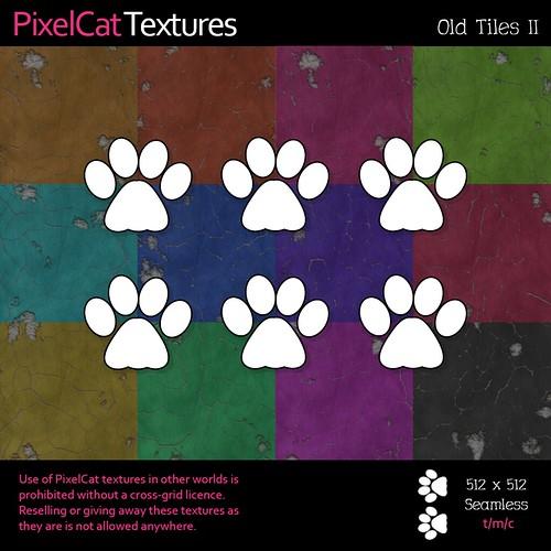 PixelCat Textures - Old Tiles II