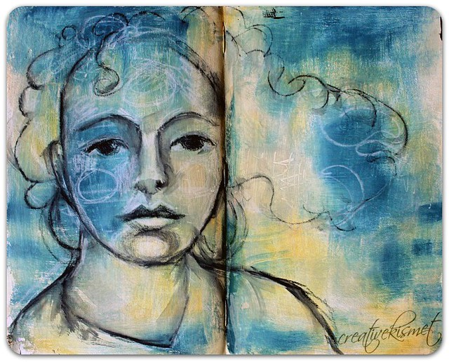 journal page - sketch by Regina Lord
