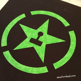 Achievement Hunter Cushion in progress