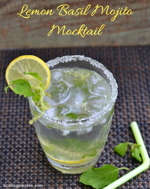Lemon Basil Mojito Recipe | Mocktail Recipes