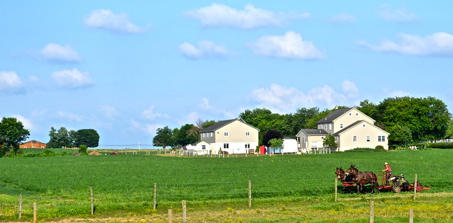 Working the land - Amish Tour - Lancaster County PA