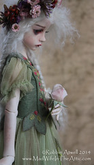 Dollstown Seola:  Faceup, Body Blush, and Wig by Robbin Atwell