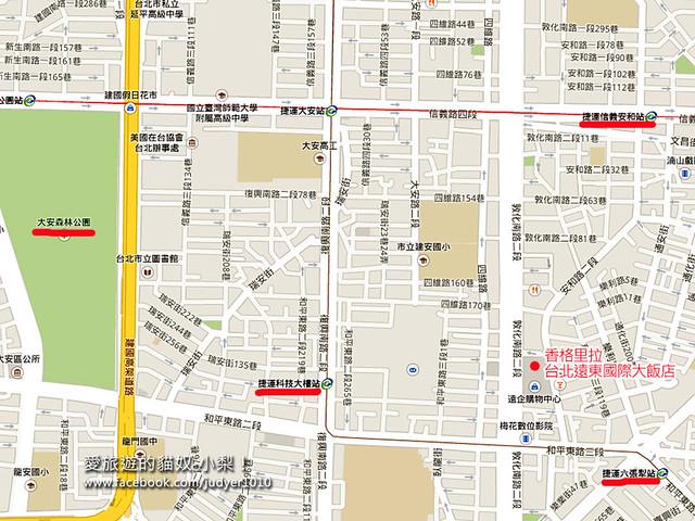 遠東飯店地圖1