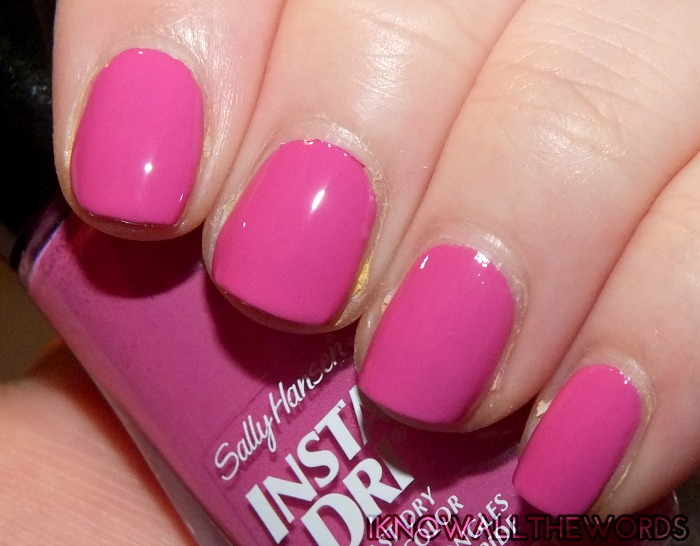 Sally Hansen Insta-Dri Kaleidoscope Collection- Love Train (8)