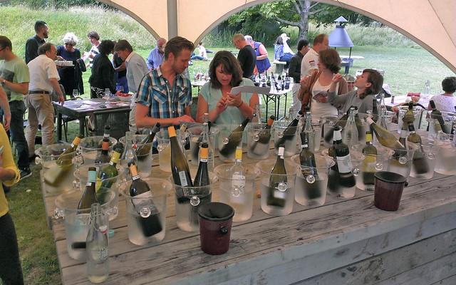 Margaret Wines wijnproeverij bij Fort aan de Klop