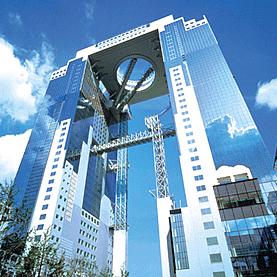 Достопримечательности Осака - Umeda Sky Building